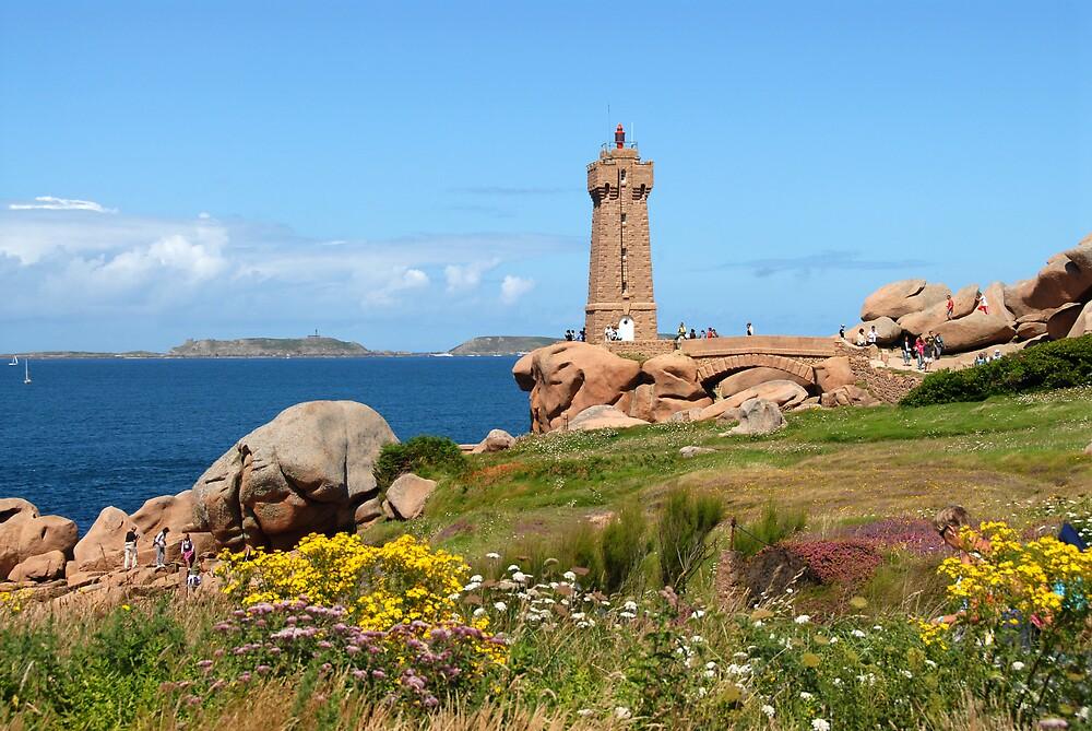 Landscape with lighthouse by jensNP