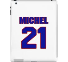 National football player Tom Michel jersey 21 iPad Case/Skin