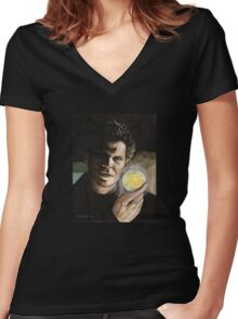 Passion - Angelus - BtVS Women's Fitted V-Neck T-Shirt