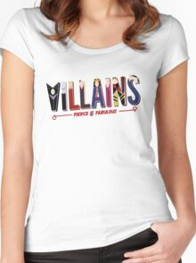 Villains Women's Fitted Scoop T-Shirt