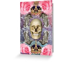 DEATH, I LOVE YOU Greeting Card