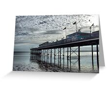 Paignton Pier Greeting Card