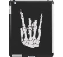 Skeleton hand | White iPad Case/Skin
