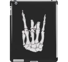 Skeleton hand | White iPad Case/Skin