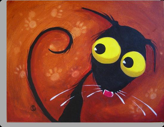 What paw prints? by StressieCat