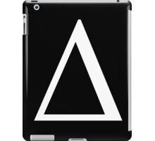 Delta. Greek alphabet. iPad Case/Skin