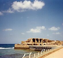 Israel, Acre - the site of the Templar Fortress by Shulie1