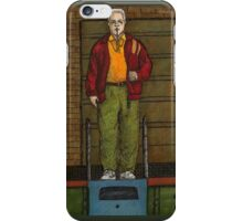 Go Fish - Coach Marin - BtVS iPhone Case/Skin