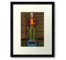 Go Fish - Coach Marin - BtVS Framed Print