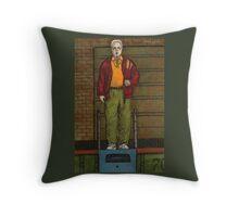 Go Fish - Coach Marin - BtVS Throw Pillow