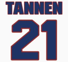National football player Steve Tannen jersey 21 by imsport