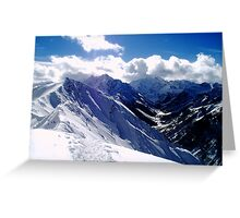 12,392 ft Greeting Card