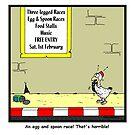 Egg & Spoon Race by Hagen