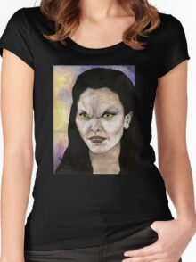 Becoming, Part One - Drusilla - BtVS Women's Fitted Scoop T-Shirt