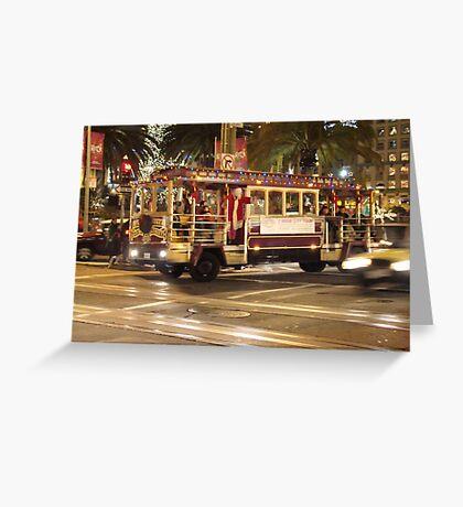 San Francisco in December Greeting Card