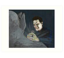 Becoming, Part Two - Angelus - BtVS Art Print