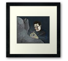 Becoming, Part Two - Angelus - BtVS Framed Print