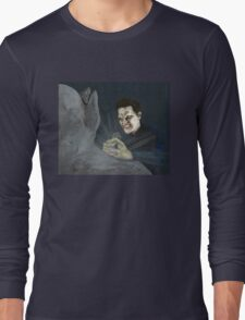 Becoming, Part Two - Angelus - BtVS Long Sleeve T-Shirt