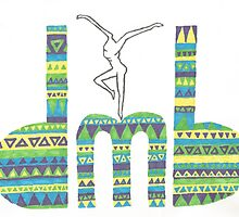 DMB Firedancer Aztec Print by shelbmcintyre