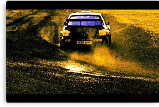 Valentino Rossi @ WRC New Zealand by Stephen Johns