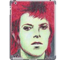 David Bowie Portrait iPad Case/Skin