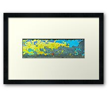 Concrete Cartography Framed Print