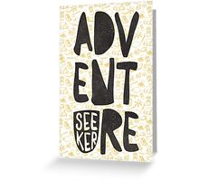 adventure seeker Greeting Card