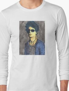 Lou Reed Portrait Long Sleeve T-Shirt