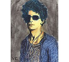 Lou Reed Portrait Photographic Print