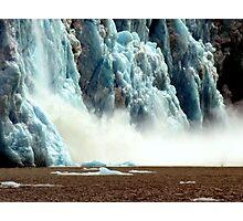 Glacier meltdown Photographic Print