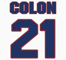 National football player Harry Colon jersey 21 by imsport