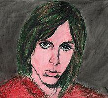 Iggy Pop Portrait by Brooke Donlan