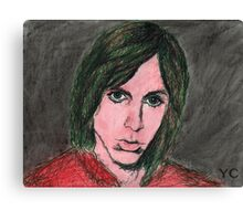 Iggy Pop Portrait Canvas Print