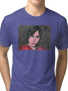 Iggy Pop Portrait Tri-blend T-Shirt