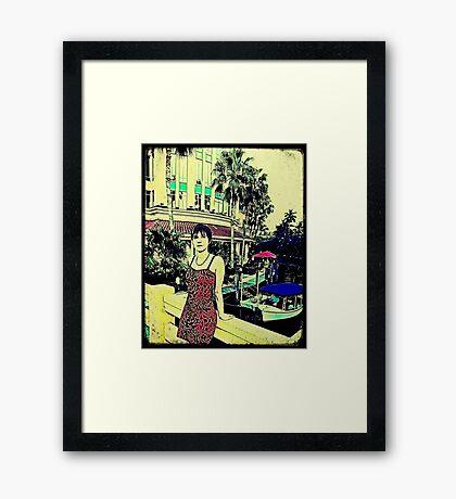 Miami Vice (GTA Style) Framed Print
