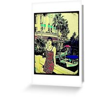 Miami Vice (GTA Style) Greeting Card
