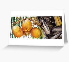 Coconuts VII Greeting Card