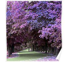 Purple Fall. Poster