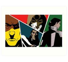 Villains of Korra Art Print