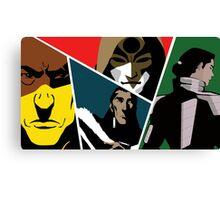 Villains of Korra Canvas Print