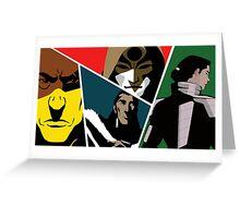 Villains of Korra Greeting Card