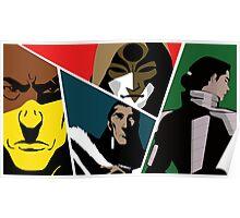 Villains of Korra Poster