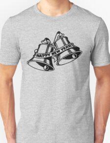 Happy New Year Bells Unisex T-Shirt