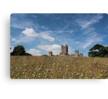 Highclere Castle a.k.a. Downton Abbey Canvas Print