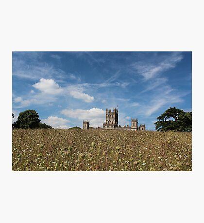 Highclere Castle a.k.a. Downton Abbey Photographic Print