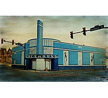 Old Greyhound Bus Station Photographic Print