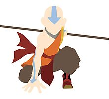 Aang - The Last Airbender  Photographic Print