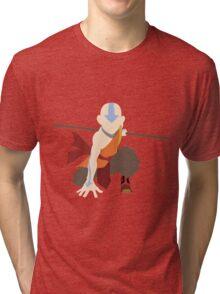 Aang - The Last Airbender  Tri-blend T-Shirt