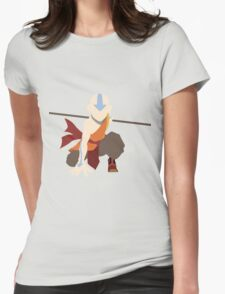Aang - The Last Airbender  Womens Fitted T-Shirt