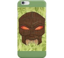 Dead Man's Party - The Ovu Mobani Mask - BtVS iPhone Case/Skin